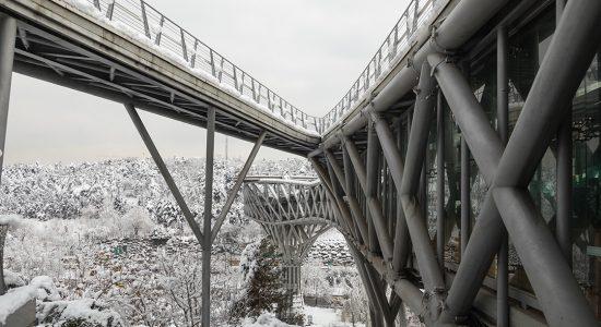 مشخصات فنی پل طبیعت و مصالح استفاده شده در ساخت
