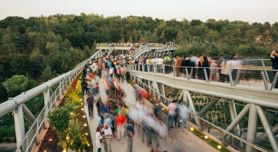 Tabiat Bridge Architectural Design and Characteristics