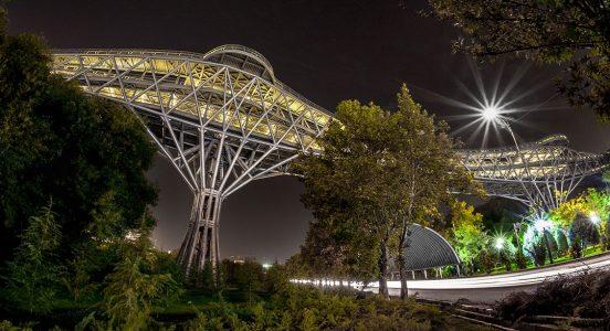 Tabiat Pedestrian Bridge Design
