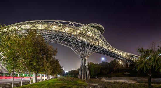 ویژگی های طراحی و معماری پل طبیعت