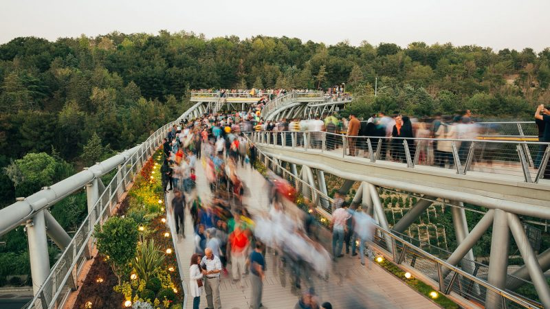 پل طبیعت در سال 1394 برنده جایزهMEIDAA در بخش پروژه های عمومی و شهری خاورمیانه، دوبی، امارت متحده عربی