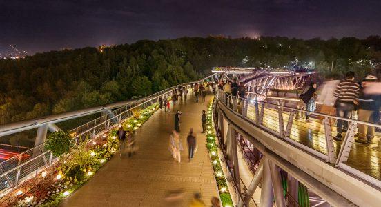 Tabiat Bridge Has Been Designed on Three Separated Floors