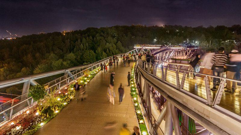 پل طبیعت، پلی مخصوص عابران پیاده