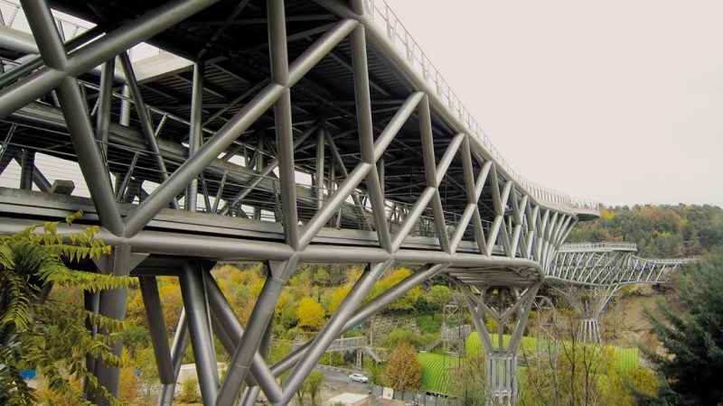 پل طبیعت برنده جایزه معماری آسیا در سال 1394، استانبول، ترکیه