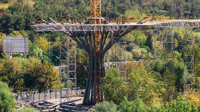سازه فولادی پل طبیعت SD 52