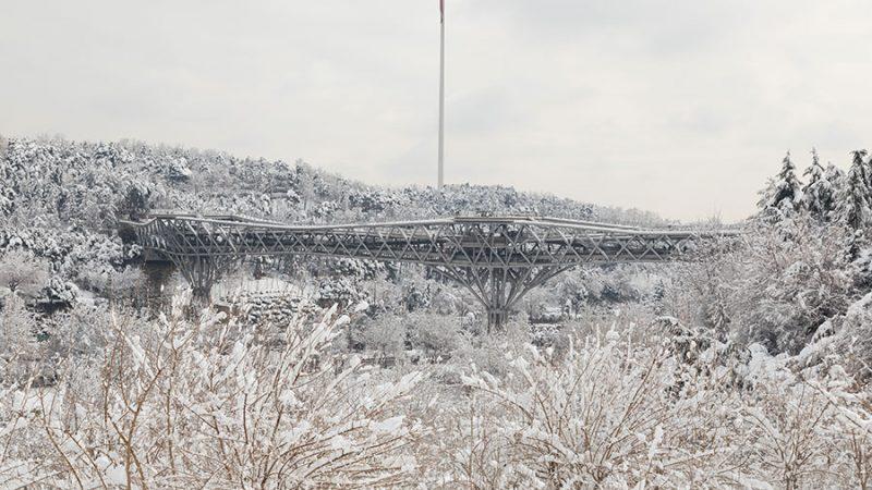 پل طبیعت از زاویهای دیگر